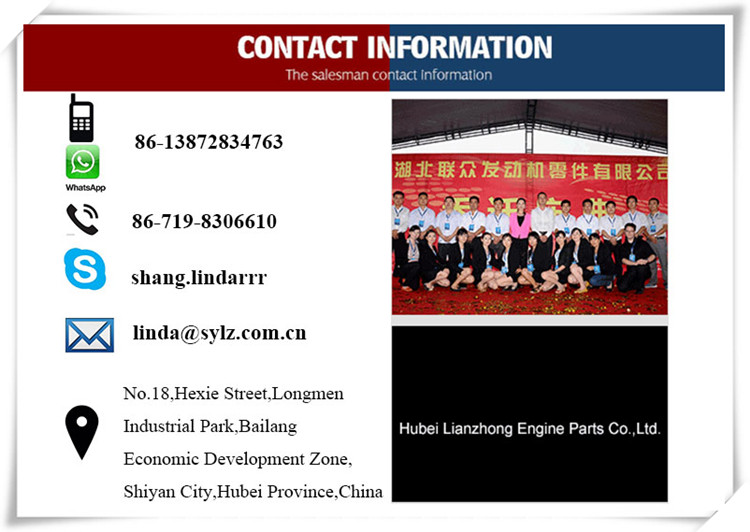 Shang-chai Diesel Engine Cylinder Block 7N6550 for engine parts