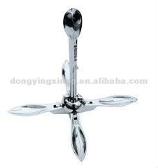 stainless steel folding boat anchor