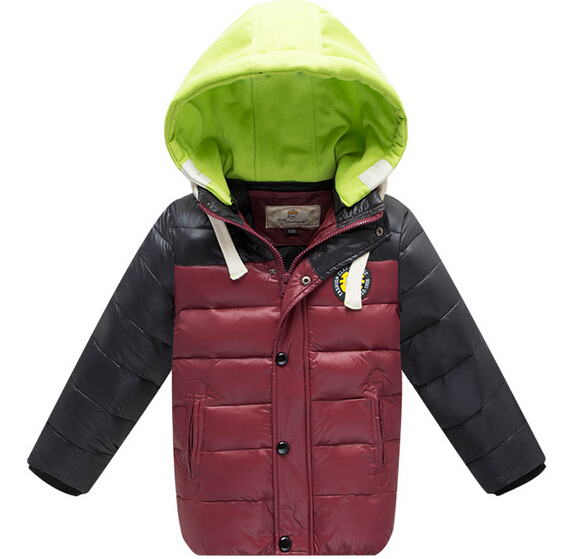 2014 Free shipping high quality brand baby boys winter white duck down jackets boys down coat kids warm outerwear retail