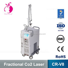 Manufacturer price best multi-function beauty equipment co2 fractional laser machine / vaginal tightening