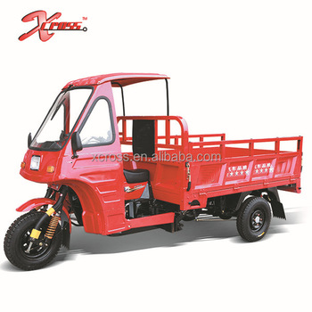 Chinese Cheap Water cooled 200cc Cargo Tricycle Three Wheels With Cab For Sale Xcargo200B