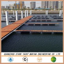 aluminum or steel structure floating docks and jetties for sale