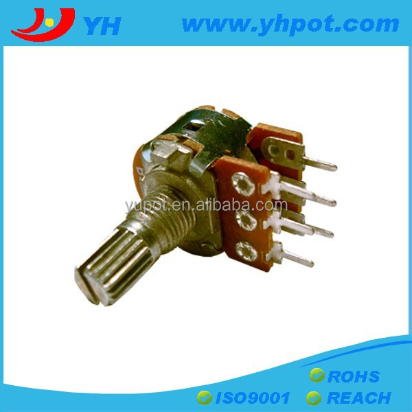 yh 16mm L15 wtih metal bushing stereo rotary potentiometer ohm <strong>103</strong>