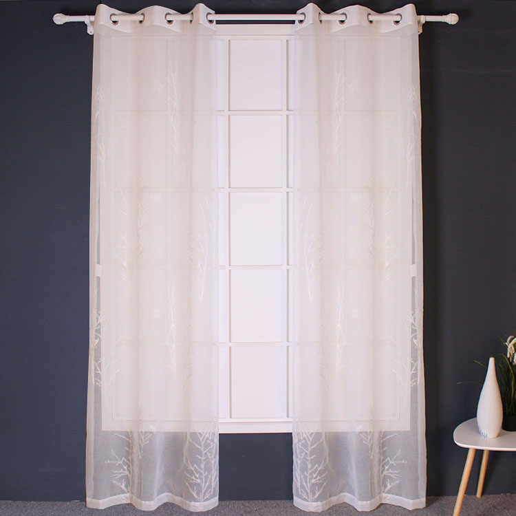 Good Quality Best Sales Durable Embroider Oriental Curtains