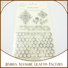 Wholesale Transparent Clear Stamp Scrapbooking Rubber Stamp