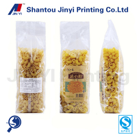 2014 new design plastic bag for pasta and spaghetti packaging