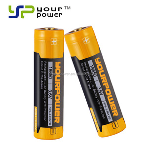 3500mAh 3.6v 18650 rechargeable lithium battery