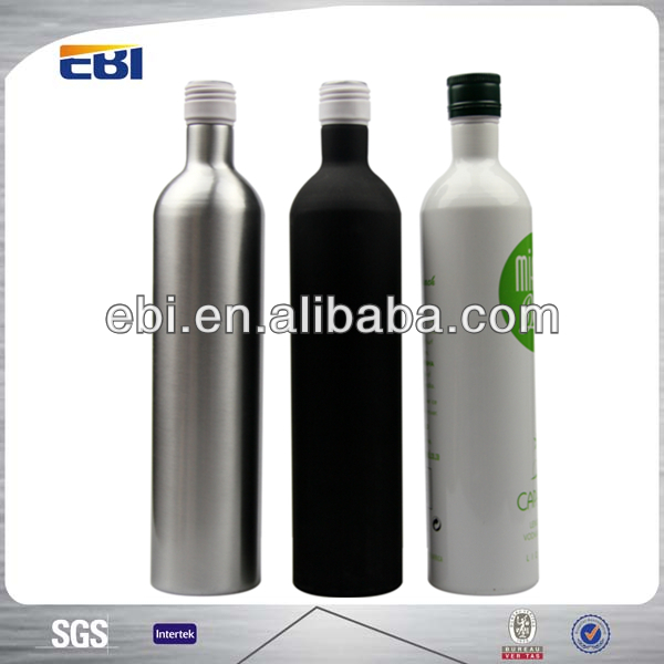 Wholesale Aluminum Bottle of Red Wine with customized logo