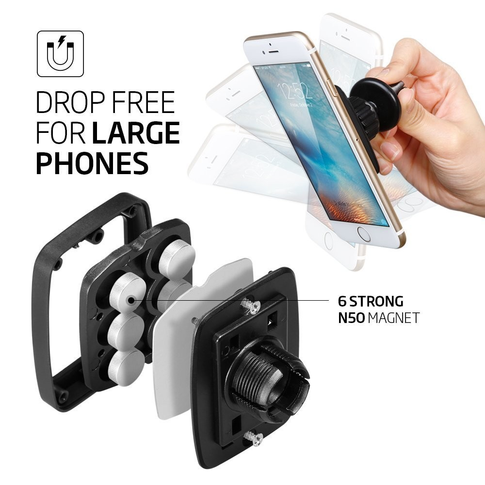 2016 New Magnetic mobile phone holder car air vent, magnet car mount for cell phone