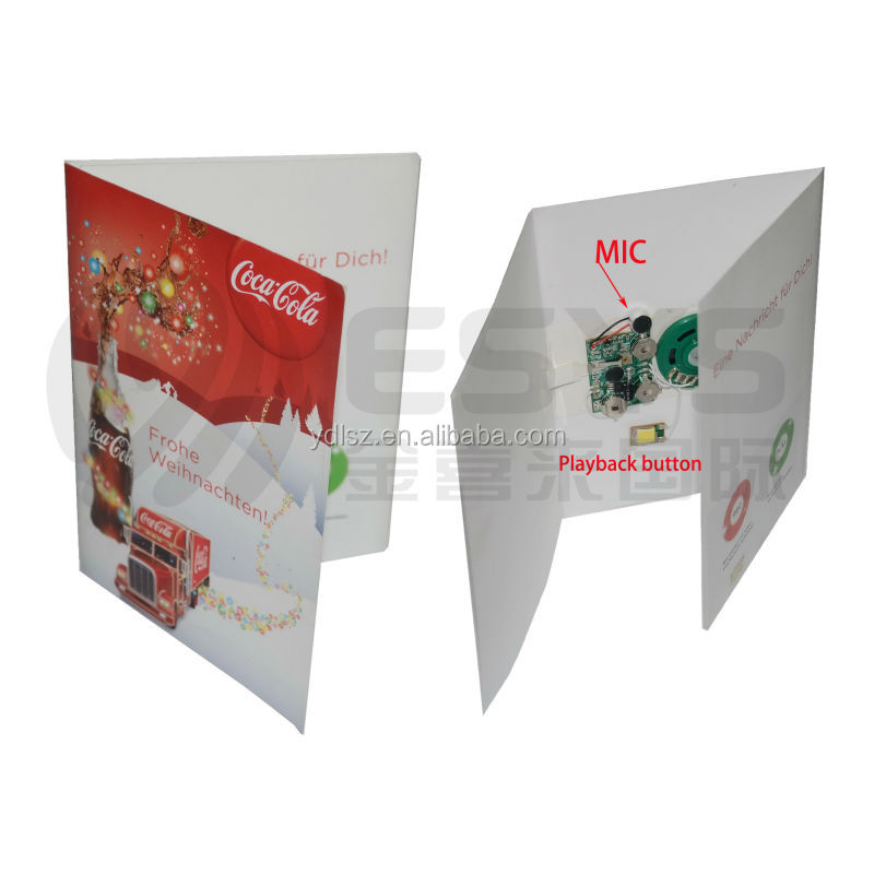 Greeting card Sound Module voice recording