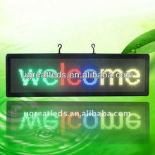 Alibaba store Ultr-bright Supper Slim led text tv display mobile trailer led sign