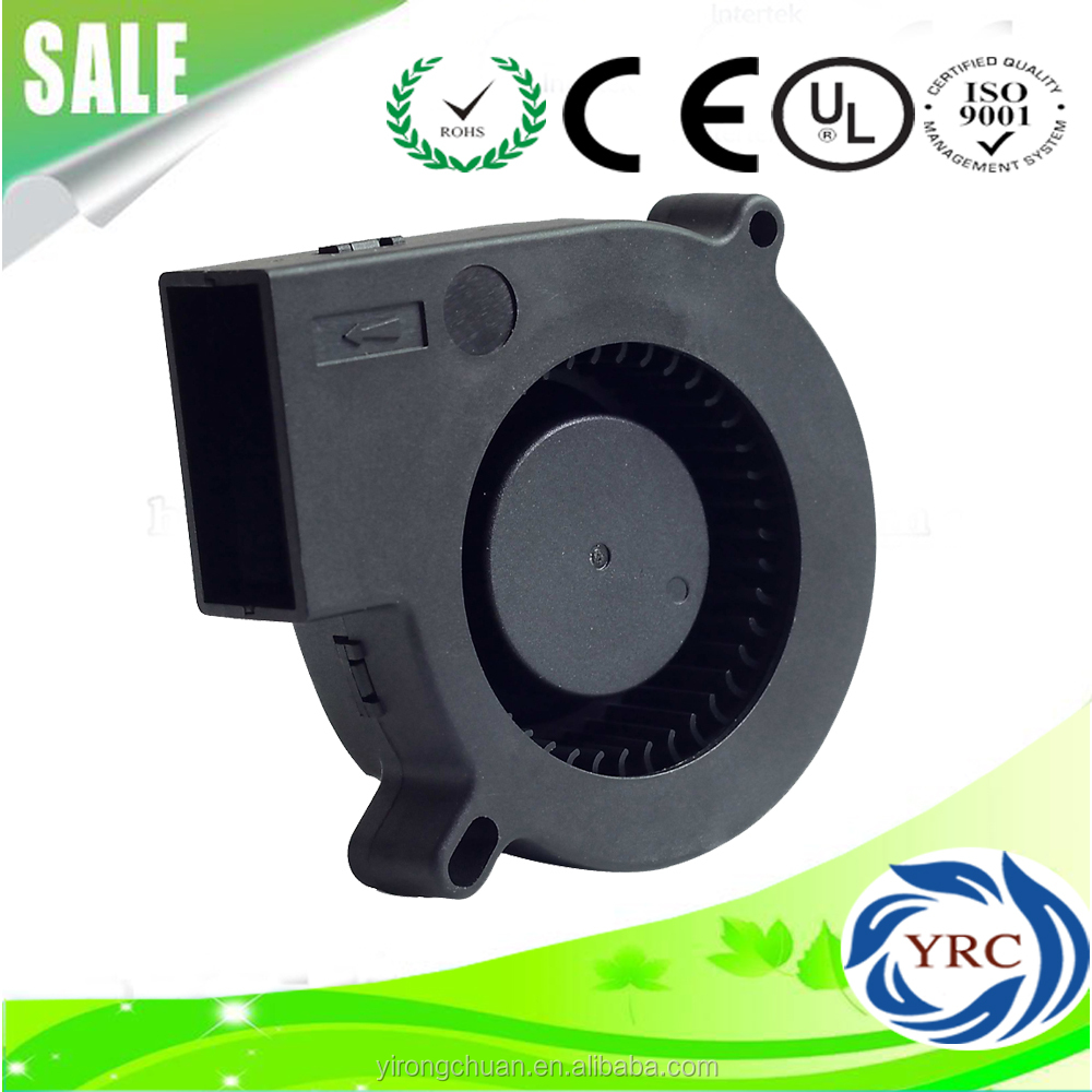 12v 7525 75*75*25 mm DC Blower Turbo Centrifuge Cooling Cooler Fan