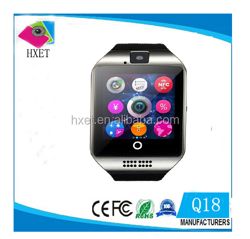 Factory Supply High Quality Bluetooth 2G Phone Call Q18 Smart Watch