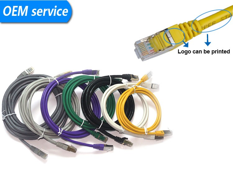 braided ethernet cable CAT7 patch cord cable
