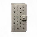 Customize Star Rivet Parrern Wallet PU Leather Case for Iphone 7