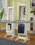 Whine fishion mirror jewelry armoire