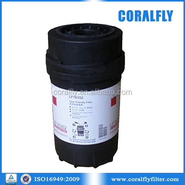LF16352 heavy-duty truck lube spin-on oil filter manufacturer