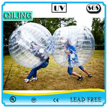 2016 top sales best quality 1.0mm PVC/TPU colorfull crazy roll inside inflatable bumper ball suit,inflatable soccer bubble