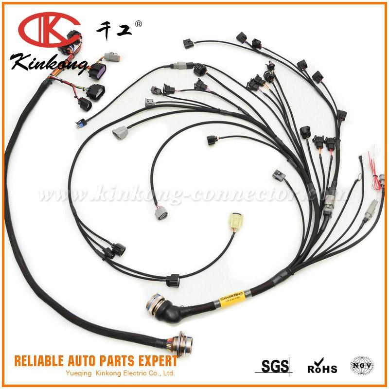 Bmw Custom Wiring Harness : Bmw e  series custom engine wiring harness toyota