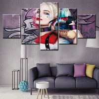 Wholesale High Quality printed canvas Artworks Modern Design Wall Art Decorative Canvas famous film figure Oil Paintings