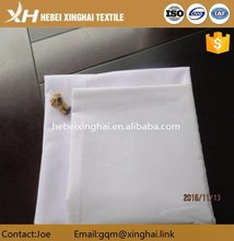 polyester cotton TC 80/20 110*76 bleached shirting fabric/poplin fabric