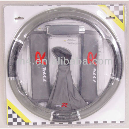 Steering wheel cover/shoulder pads & brake cover pack