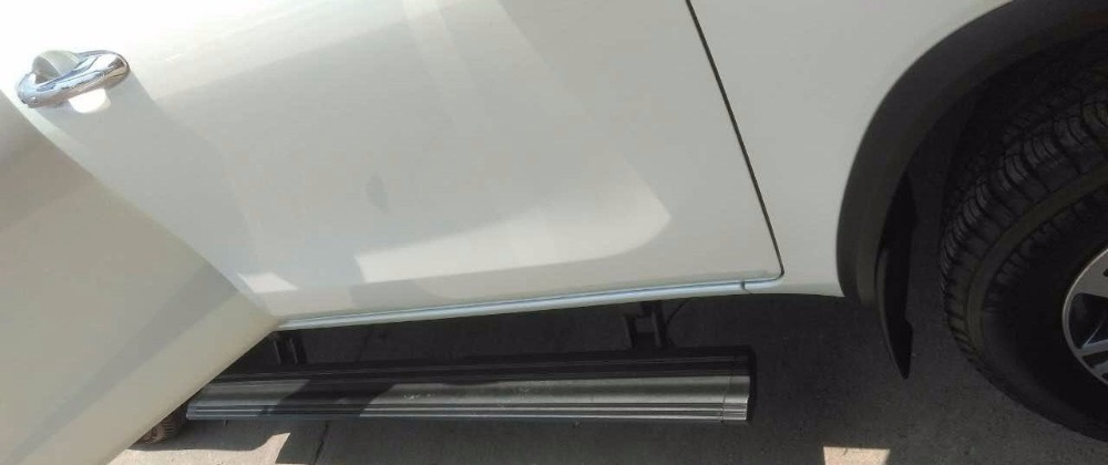 PowerBoard Retractable Electric side step for toyota fortuner