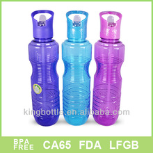 Beautiful Hot sale clear plastic wine drinking bottles for sale