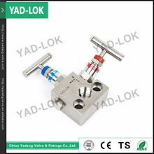 "YAD-LOK 1/2""-4"" 2 Ways Waterproof Stainless Steel Solenoid Water Valve Manifold"
