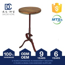 Quality Assured Direct Factory Price Wholesale Outdoor Table Wood Home Decor