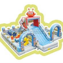 Cheer Amusement The puzzle inflatable playground