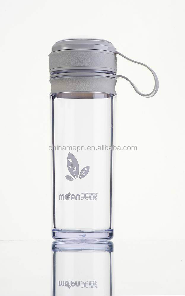2016 hot products plastic PC drinking tea bottle