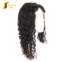 High quality virgin human hair large african american wigs, natural looking wigs for men