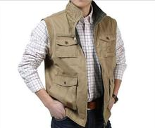 Z71045A 2014 NEWEST autumn outwear photographic man's waistcoats