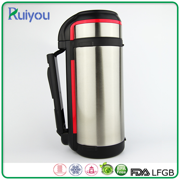 Noble and elegant sports healthy vacuum travel thermos pot for milk