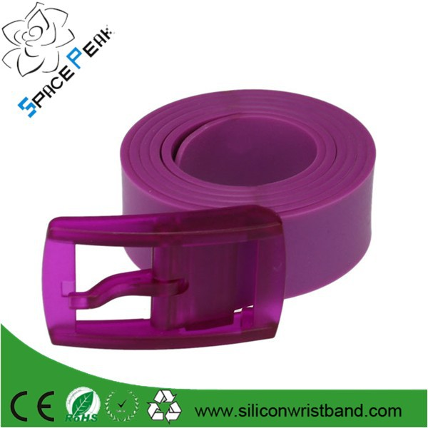 Golf baseball New Arrival Adult Fashion Silicone TPE belt Fashion fragrance Unisex candy jelly belt