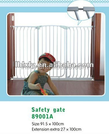 2017 popular Baby simple main iron gate design automatic gate
