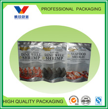 customized plastic bag for frozen food/dumpling/meat ball/fish