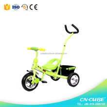European - standard children tricycle / 2017 new disign 2 seats baby tricycle