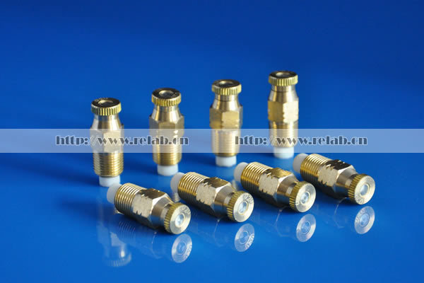 Cooling System Cleanable Anti-drip Brass Mist Nozzle