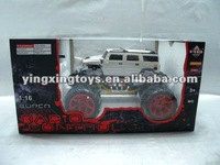 1:20 4 channels rc stunt car with music,flash light
