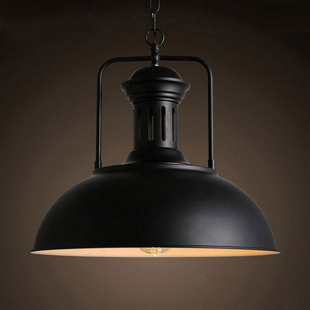 Cheap price designer industrial retro pendant lighting fixture with LED dimmable for store decoration