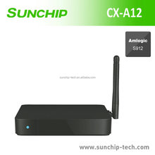 Hot Sale quad core 2GB RAM 16GB Flash Amlogic s912 RK3368 android 4k tv box
