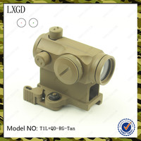 T1L Hunting Tactical red green dot sight,Shockproof optic sight rifle scope