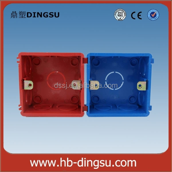 Electrical Conduit Fitting 1 Gang Plastic Box