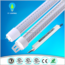 Wholesale UL T8 T12 LED tube price 4 feet 8 feet 18W 40W tube lighting