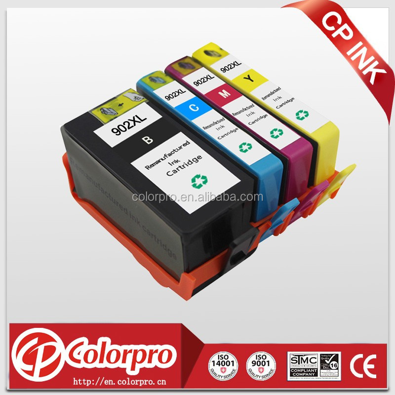 Wholesale for HP inkjet 902 Remanufactured Ink Cartridge