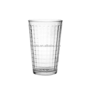 400ml Clear Glass Coffee Mug Tea Cups Drink Cup Wholesale