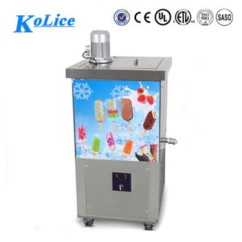 Single mold ice lolly machine machine 160 pcs per hour