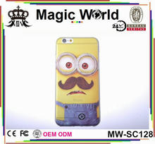TPU MINION Despicable me PHONE CASES FOR IPHONE 6